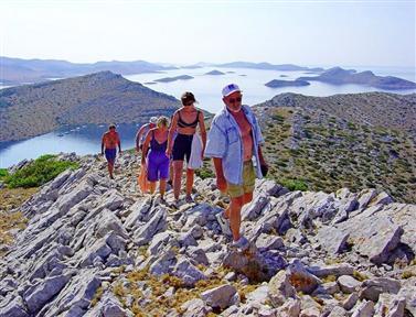 Kroatië Cruises Wandelen