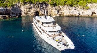 Výletne plavby loďou Jednosmerná plavba Chorvátsko
