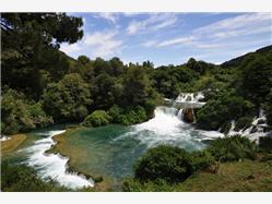 Krka Falls Omisalj - island Krk