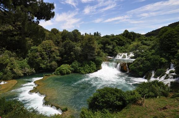 Vodopády Krke