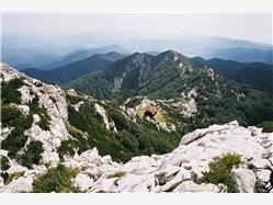 Het Risnjak bergmassief Zagreb