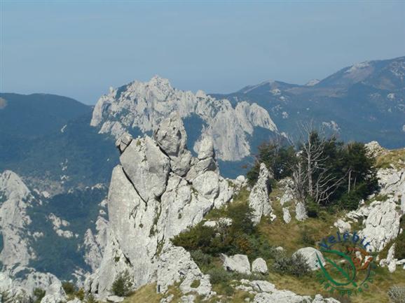 De Velebit berg