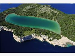 De Telascica baai - Dugi otok Uvala Lopatica - eiland Kornat