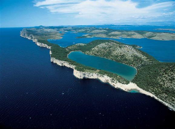 De Telascica baai - Dugi otok