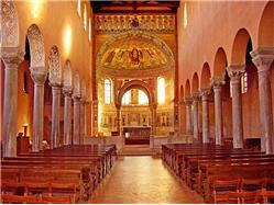 Euphrasius Basilica in Porec Omisalj - island Krk