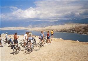 Zwiedzanie wysp rowerem w Północnej Dalmacji (ZB)