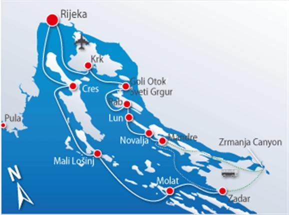 Plavba Active & Cappuccino severným Jadranom (RC)