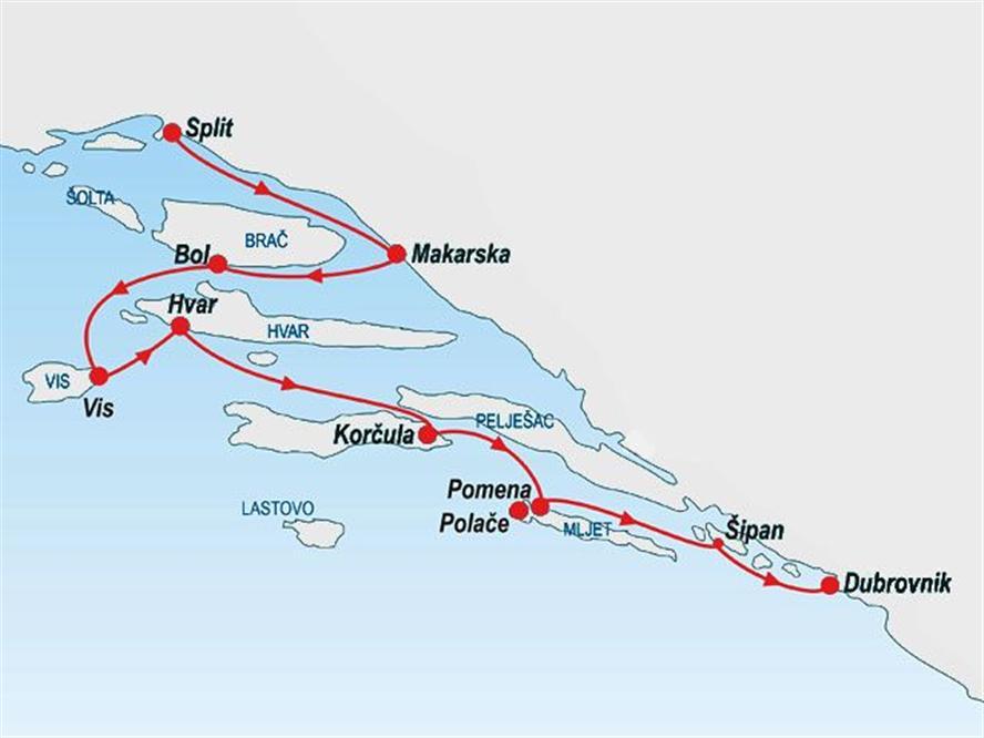 KL7-route-Split-Dubrovnik