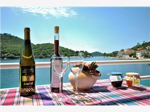 Accommodatie aan zee Slavica Pasadur - eiland Lastovo,Reserveren Accommodatie aan zee Slavica Vanaf 68 €