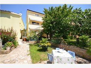 Appartementen en Kamer Mirjana Blauw Istrië, Kwadratuur 20,00 m2