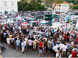 Święto wina Jelsa - wyspa Hvar Lokalne święto