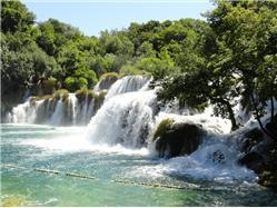Chutes de la riviere de Krka - Excursion journalière en bateau Zadar