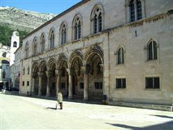 Knežev dvor (Kniežací dvor) Dubrovnik Pamiatky