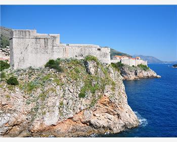 La fortezza di Lovrijenac