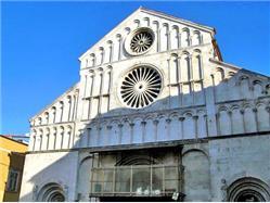 Katedrála sv. Srošije Poljana - ostrov Ugljan Kostel