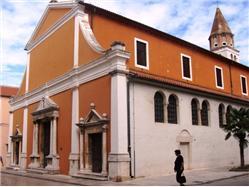 Kostel sv. Šime Osljak - ostrov Osljak Kostel