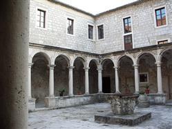 Kościół i klasztor franciszkanów Metajna - wyspa Pag Kościół