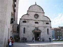 Church and monastery of St. Mary Metajna - island Pag Church