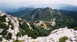 Nationaal park Het Risnjak bergmassief