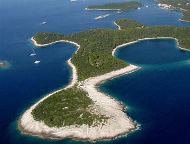 Nemzeti park Mljet sziget
