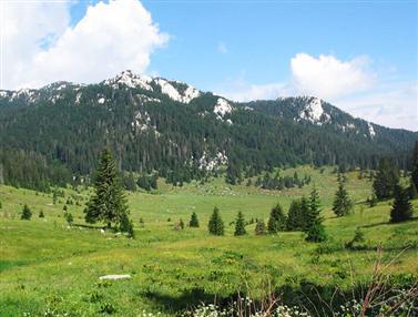 Nationaal park Noord Velebit bergen