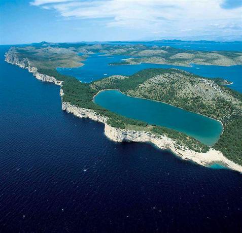 Parc naturel La baie de Telascica - l'île de Dugi Otok
