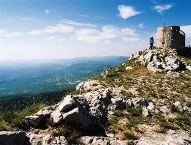 Természetvédelmi terület Učka