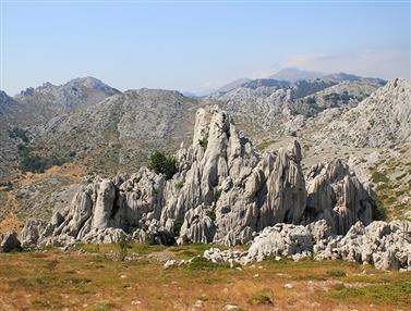 Natuurpark De Velebit berg