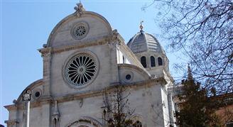 St. Jacobs Cathedral in Sibenik - Pamiatky UNESCO Chorvátsko