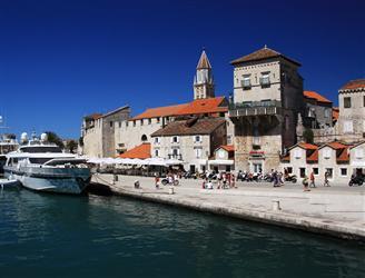 Historiska staden Trogir - UNESCO världsarv Kroatien