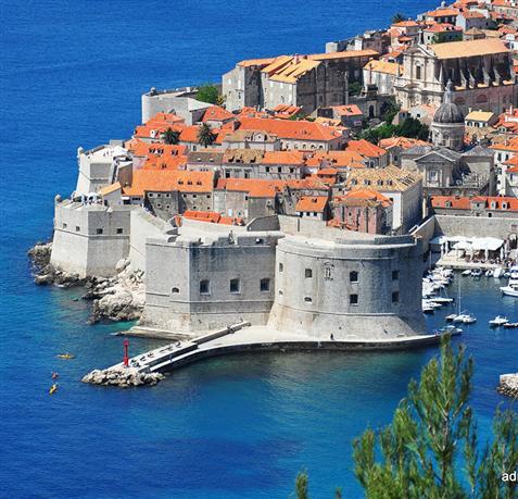 Dubrovnik - UNESCO spomeniki Hrvaška
