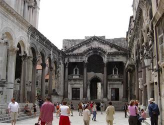 Diocletian's Palace in Split - UNESCO heritage Croatia