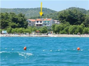 Beachfront accommodation Sibenik Riviera,Book Marija From 66 €