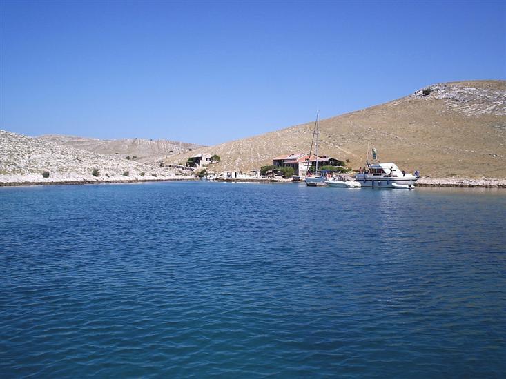 Uvala Lopatica - eiland Kornat