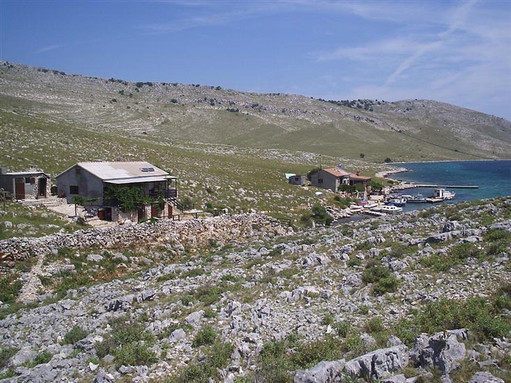 Uvala Lopatica - wyspa Kornat