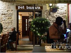 Reštaurácia Pet bunara  Reštaurácia