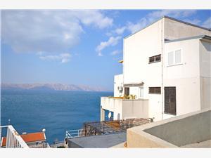 Apartamenty i Pokoje Devčić Senj, Powierzchnia 22,00 m2, Odległość do morze mierzona drogą powietrzną wynosi 200 m, Odległość od centrum miasta, przez powietrze jest mierzona 400 m