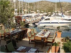 Restauracja Port Rosso Zaklopatica - wyspa Lastovo Restauracja