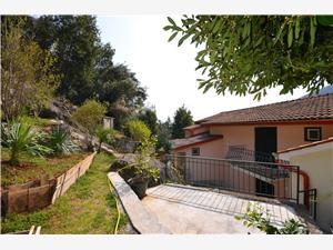 Ferienwohnung Vanda Moscenicka Draga (Opatija), Größe 65,00 m2, Luftlinie bis zum Meer 250 m, Entfernung vom Ortszentrum (Luftlinie) 100 m
