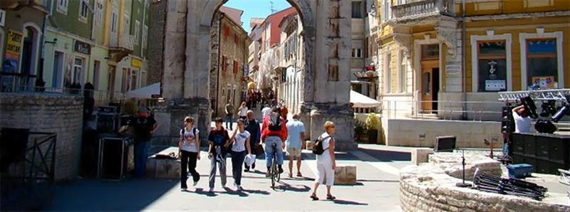Horvátország Városlátogatások Pula