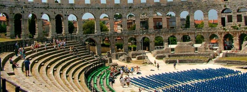 Weekend stedentrip Pula Amfitheater