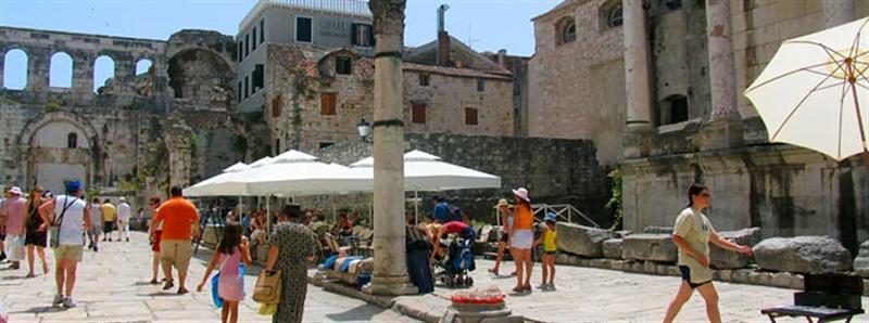 Weekend stedentrip Split Kroatië