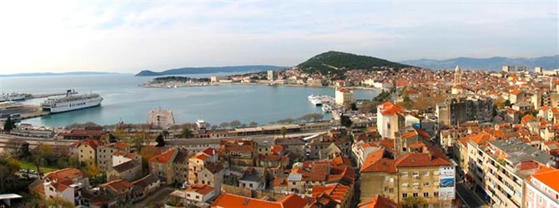Városlátogatások Split Horvátország