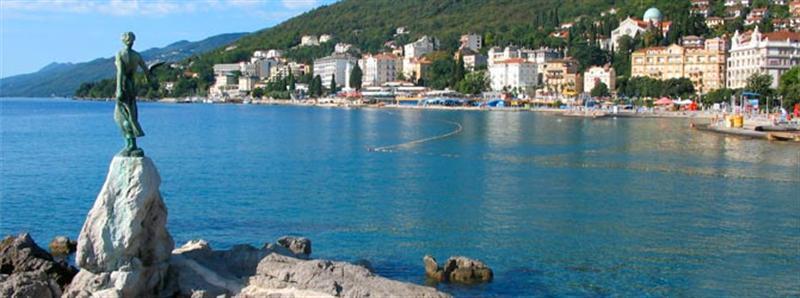 Horvátország Városlátogatások Opatija Rijeka