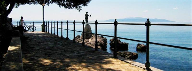 Városlátogatások Rijeka Opatija