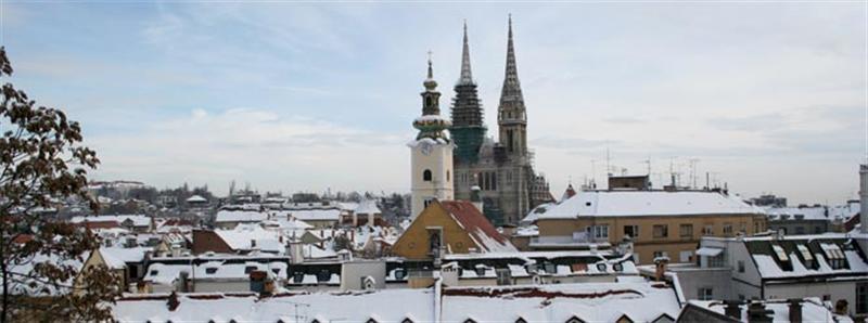 Horvátország Városlátogatások Zagreb