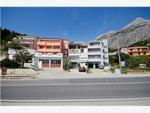 Apartmani Grepo Sljeme Makarska, Kvadratura 85,00 m2, Zračna udaljenost od centra mjesta 800 m