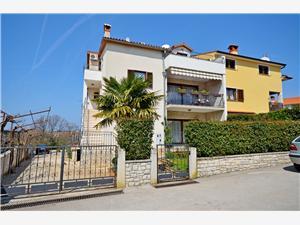 Apartmanok Milan Rovinj, Méret 25,00 m2