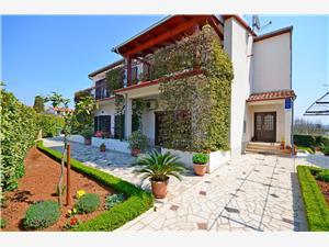 Apartmány Milan Modrá Istria, Rozloha 33,00 m2, Vzdušná vzdialenosť od centra miesta 500 m