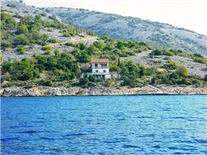 Ferienwohnungen Ivica Kroatien, Haus in Alleinlage, Größe 35,00 m2, Luftlinie bis zum Meer 50 m